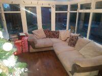 Lovley cozy corner sofa