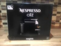 Nespresso Citiz&Milk Machine Nearly New- With 24 capsules included