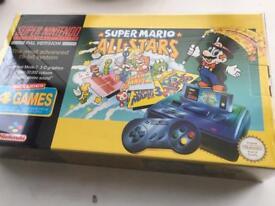 Boxed Super Nintendo