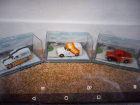 Set of 3 Corgi Morris 1000 Van set