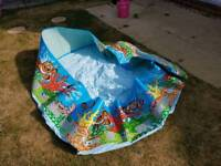 Chad valley 6ft ocean fun paddling pool, never used
