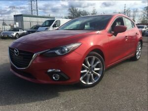 2014 Mazda Mazda3 Sport GT-SKY NAVIGATION LEATHER MOON ROOF