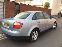 Audi A4 1.8 Turbo 2001 Looks and drives superb Hpi clear mint! Not vectra golf Mercedes BMW