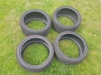 Set of R21 yokohama winter tyres BMW F15 X5