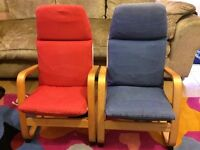 2 x Lovly Kids Child Chairs