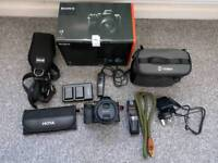 Sony a7 dslr mirrorless full frame camera + 28-70 nearly new low count + accessories