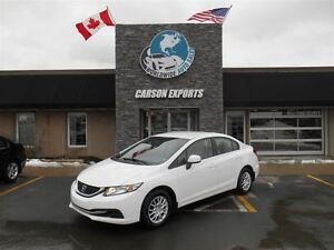 2013 Honda Civic LX! LOOK! 5 SPEED! FINANCING AVAILABLE!