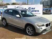 BMW X1 2.0 XDRIVE20D SE 5d 174 BHP A GREAT EXAMPLE INSIDE AND OUT WITH FULL FSH (silver) 2010