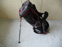 Sun Mountain Golf Bag Red And Black