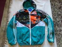 Adidas men's light weight hoodies Zipper size uk M/L used £8