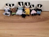 Sylvanian families badger family