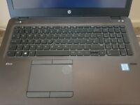 HP ZBook 15u G3 Mobile Workstation, Intel i7 2.50GHz, 512GB SSD + 500GB HD, 16GB Memory, WIN10 Pro
