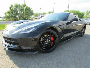 2014 Chevrolet Corvette Stingray Z51 3LT TRIPLE BLACK Z06 AERO P