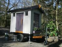 Shepherds Hut / Chill Out Space / Play Den - Hand built in Wales