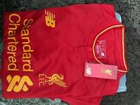 **GENUINE LIVERPOOL TOP 2016/17 WITH GENUINE TAGS**