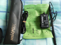 rovox accordion treble and bass stripmic with power supply