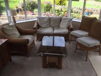5 piece set of conservatory furniture
