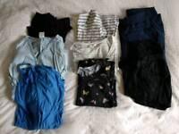 Maternity/nursing clothes bundle size 10