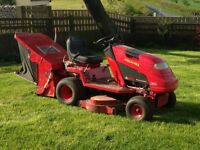 Countax C600H ride on lawn mower grass cutter garden tractor with scarifier