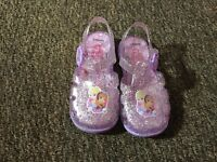 Girls jelly sandals size 8