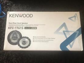 Brand new Kenwood 6.5 inch speakers