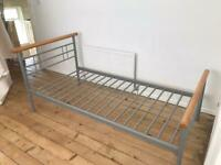 Solid great condition single bed frame