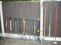 GARDEN TOOLS FROM £2 EACH .