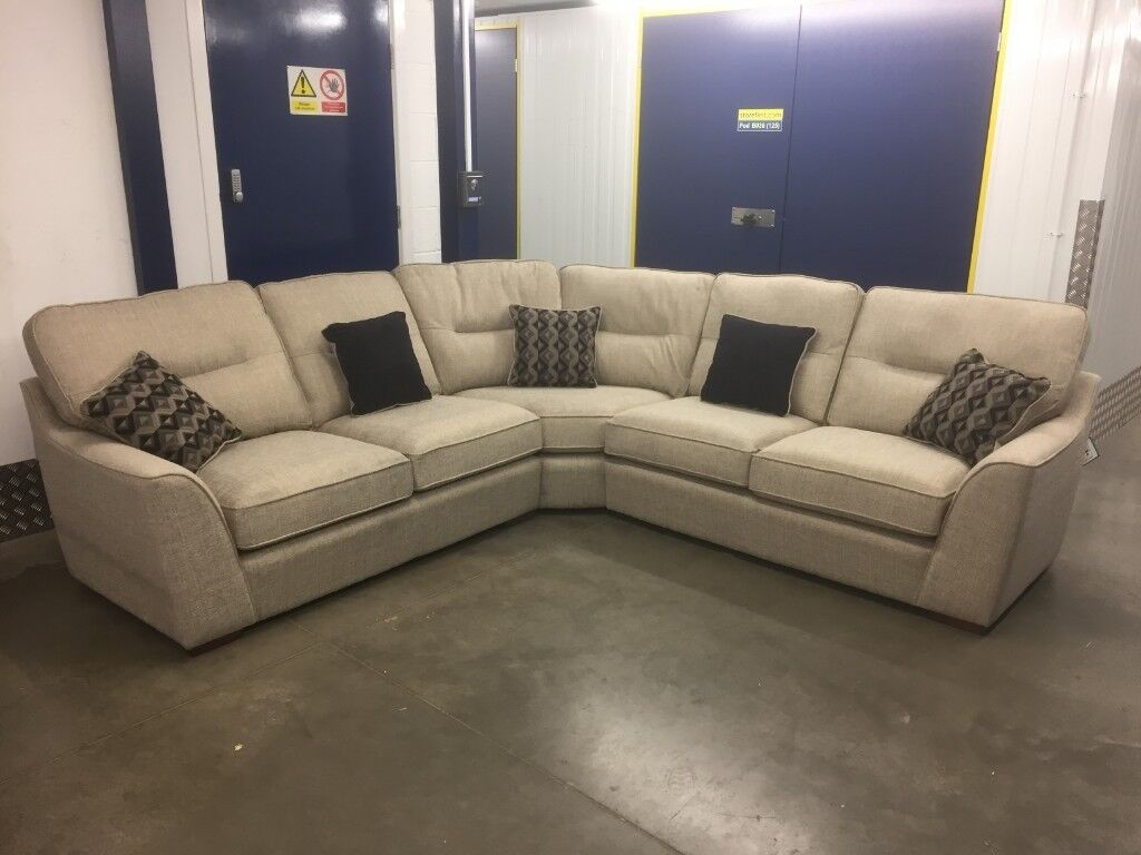 Fabb Avalon Curved Corner Sofa Delivery Available