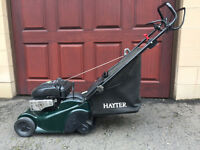 "Hayter ""Harrier 41"" rotary mower - 410mm - 4 years old"