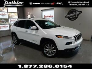 2018 Jeep Cherokee Limited   LEATHER   8.4 TOUCHSCREEN   HEATED
