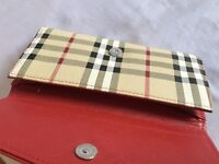 Womens checkered purse