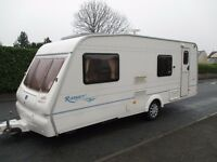 Great clean 6 berth bailey ranger 2003 family caravan