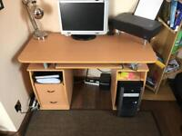 Bargain office desk for £15. MUST COLLECT TODAY.