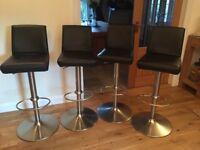 Four bar stools