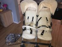 Billie faiers double stroller in good condition used a few times