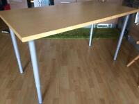 Ikea table with extendable legs