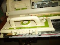PRICE REDUCED - Brother KH881 knitting machine with built in knitleader - £100 no offers
