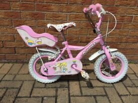 Girls Apollo Cupcake Bike 12 inch