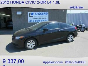2012 HONDA CIVIC 2-DR LX