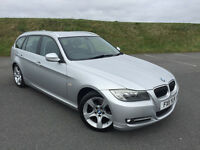2011 BMW 3 SERIES ESTATE 2.0 DIESEL EXCLUSIVE TOURING FULL BMW SERVICE HISTORY AND NEW MOT!