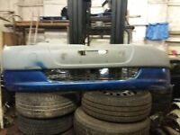 2001-02-03 TOYOTA YARIS FRONT BUMPER IN BLUE