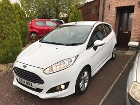 Ford Fiesta Zetec 1.0 EcoBoost (White) (Qualifies for £0 Vehicle TAX)