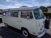 VW T2 Bay Camper Westfalia L/H Drive 1972