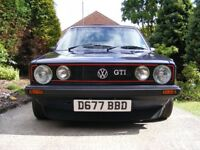 golf gti 1.8 (would do a straight swap for a van)