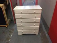 White chest of drawers, Free delivery