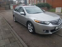 FOR SALE 2008 58 REG HONDA ACCORD ESTATE EX 2.2 i-DTEC DILESEL 6 SPEED MANUAL 5DR FULLY LOADED