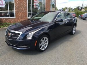 2015 Cadillac ATS 2.0T AWD w/ Leather, Sunroof, Backup Camera