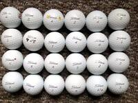 24 Titleist PROV1/1X golf balls very good condition last ones for this year be quick!