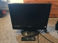 19in technika tv built in DVD player and free veiw