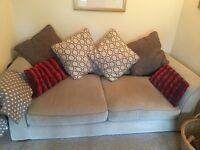 FOR SALE: Sofa, 2 x Armchair & Foot Stool